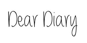 dear diary 300