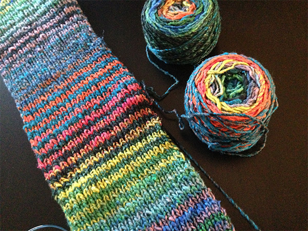 Noro-scarf