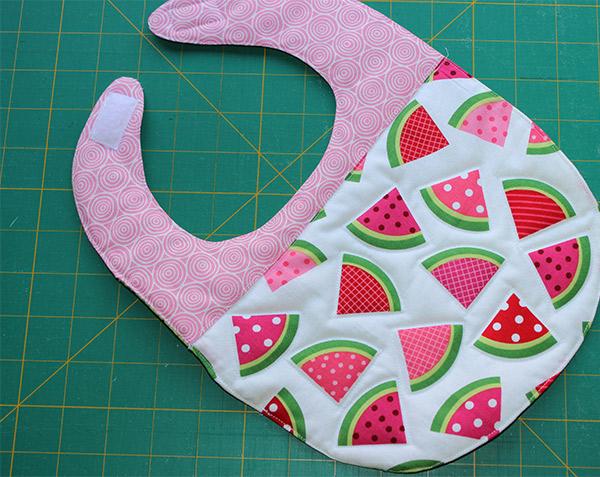 watermelon-bib